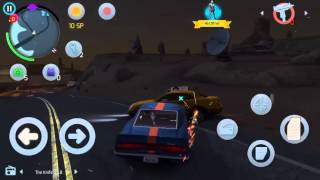 [Gangstar Vegas] Taxi cab chase in a 1967 ford mustang shellby gt