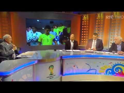 Eamon Dunphy Swears Live TV RTE SPORT