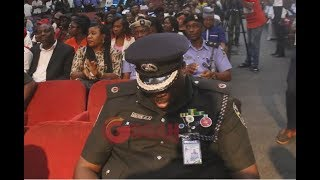 Seyi Law Cracks Joke As CSP Dolapo  Other Top Police Officers Stormed The Entertainment Event