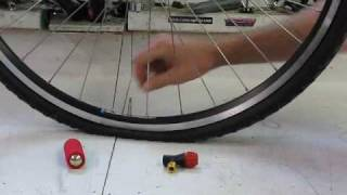 Planet Bike Red Zeppelin CO2 Inflator Head Demonstration