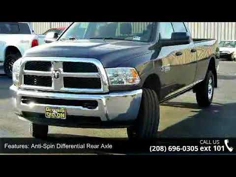2018 Ram 2500 Tradesman Dennis Dillon Chrysler Jeep Dod Youtube