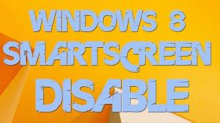 smartscreen filter windows 8 Как отключить(В этом видео я Вам покажу как отключить фильтр smartscreen в windows 8 (8.1) Игровой канал Kenso: http://www.youtube.com/user/kensolife?sub_conf..., 2014-10-31T08:38:13.000Z)