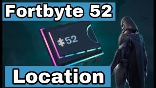Fortnite Fortbye #52 Location - Accessible With Bot Spray Inside A Robot Factory | How to unlock