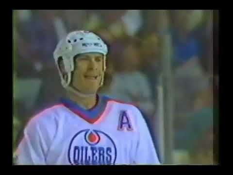 NHL Clarence Campbell Conference Finals 1987 - Game 1 - Detroit Red Wings @ Edmonton Oilers