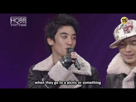 English Subbed Big Bang's  on Love Letter 02.02.08