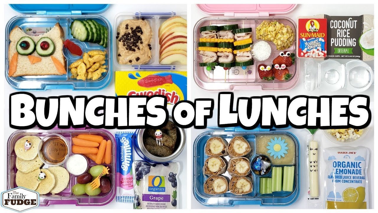 Download NEW LUNCH BOXES! 🍎 Fun Lunch Ideas