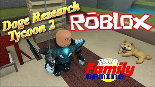 Let's Play Roblox! Doge Research Tycoon 2