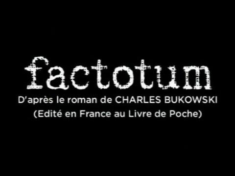 Factotum - Bande Annonce (VOST)