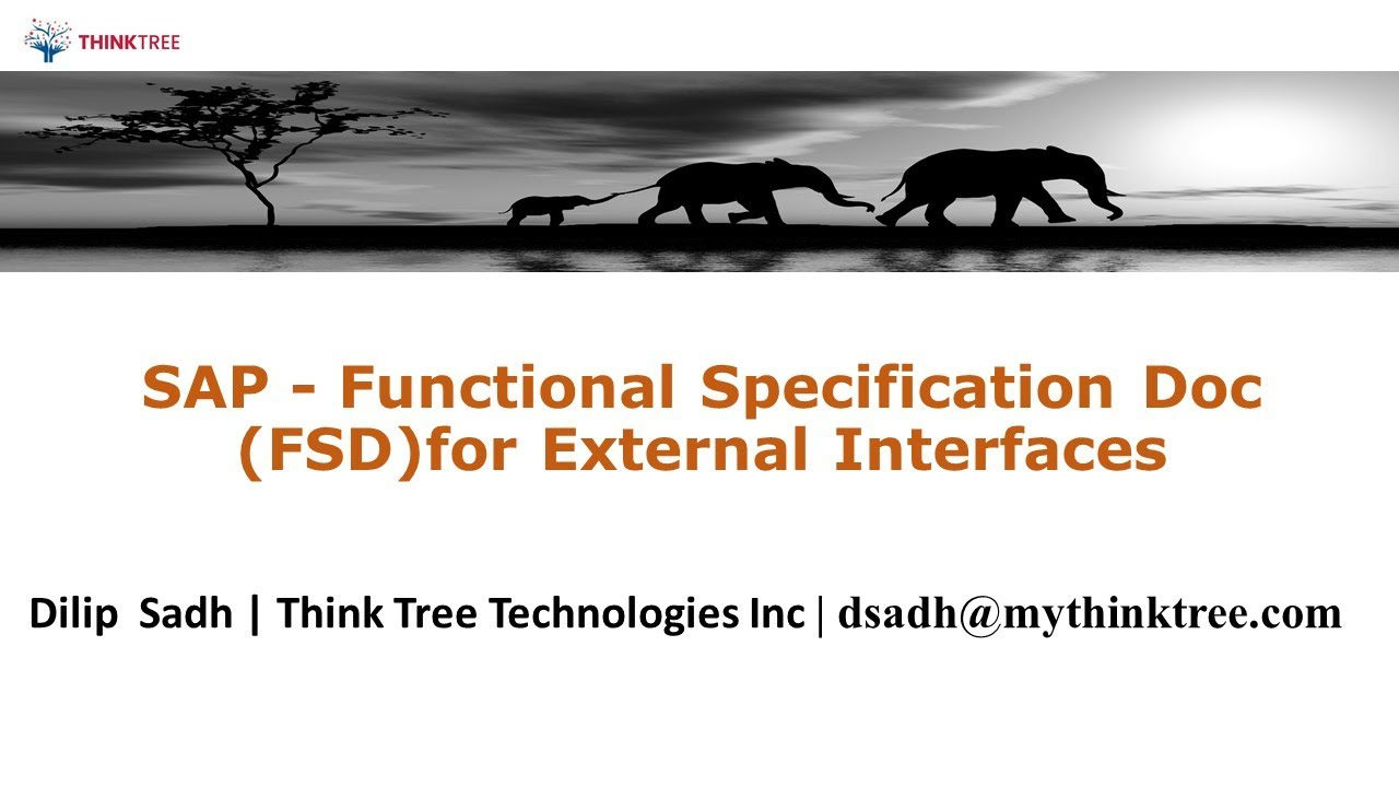How To Write Functional Specification Document For External