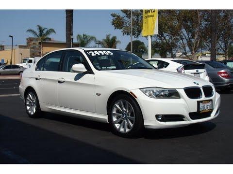 2011 BMW 328 White $24,985 Hertz Car Sales Costa Mesa 714-434-3721