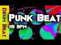 Download Punk Drum Beat / Backing Track 115 BPM - JimDooley.net MP3 song and Music Video