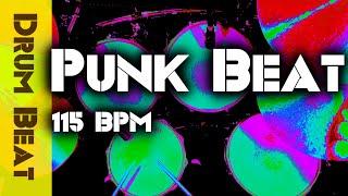 Punk Drum Beat / Backing Track 115 BPM - JimDooley.net