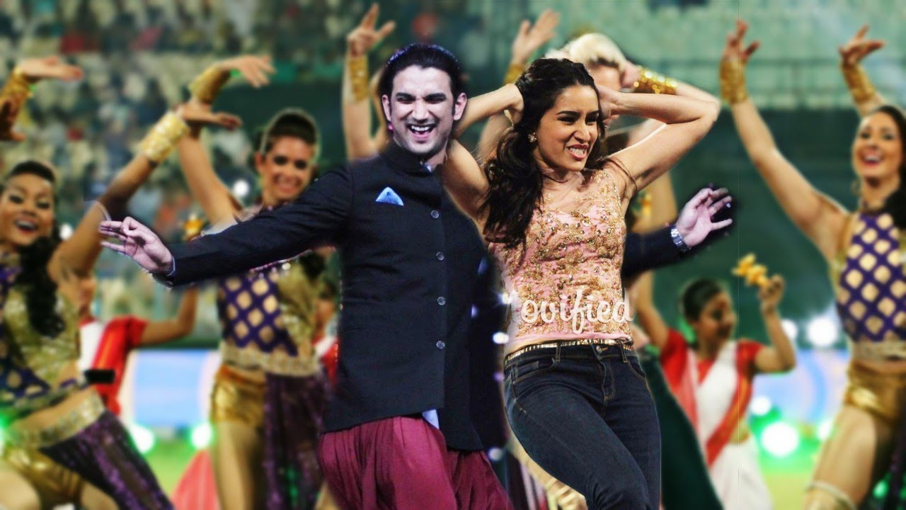 Shraddha Kapoor and Sushant Singh Rajput Unforgettable Dance Performance   During a Promotion