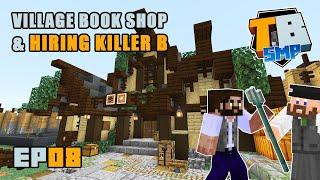 Villager Book Store & Killer B's! | Truly Bedrock Season 2 [08] | Minecraft Bedrock SMP