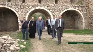 Սերժ Սարգսյանն այցելել է Արցախի Ամարասի վանական համալիր