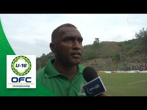 2018 OFC U16 CHAMPIONSHIP - Solomon Islands v New Zealand - Post Match Interview