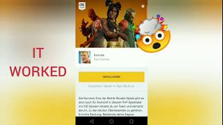 Play Fortnite Android on unsupported device   No Root