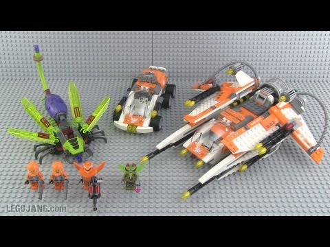 LEGO Galaxy Squad Bug Obliterator 70705 parts & review!