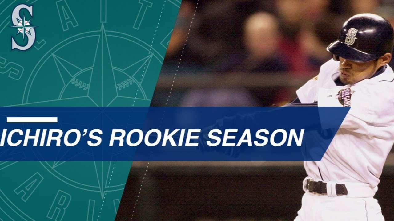 A Look Back At Ichiros Historic 2001 Rookie Season