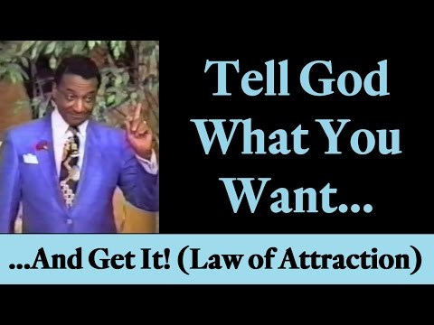 "Rev. Ike: ""Tell God What You Want, and Get It!"" (Law of Attraction)"