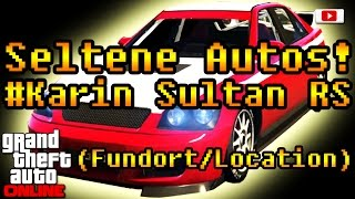Grand Theft Auto 5 Online - Seltene Autos #Karin Sultan RS! (PlayStation 4 Gameplay)