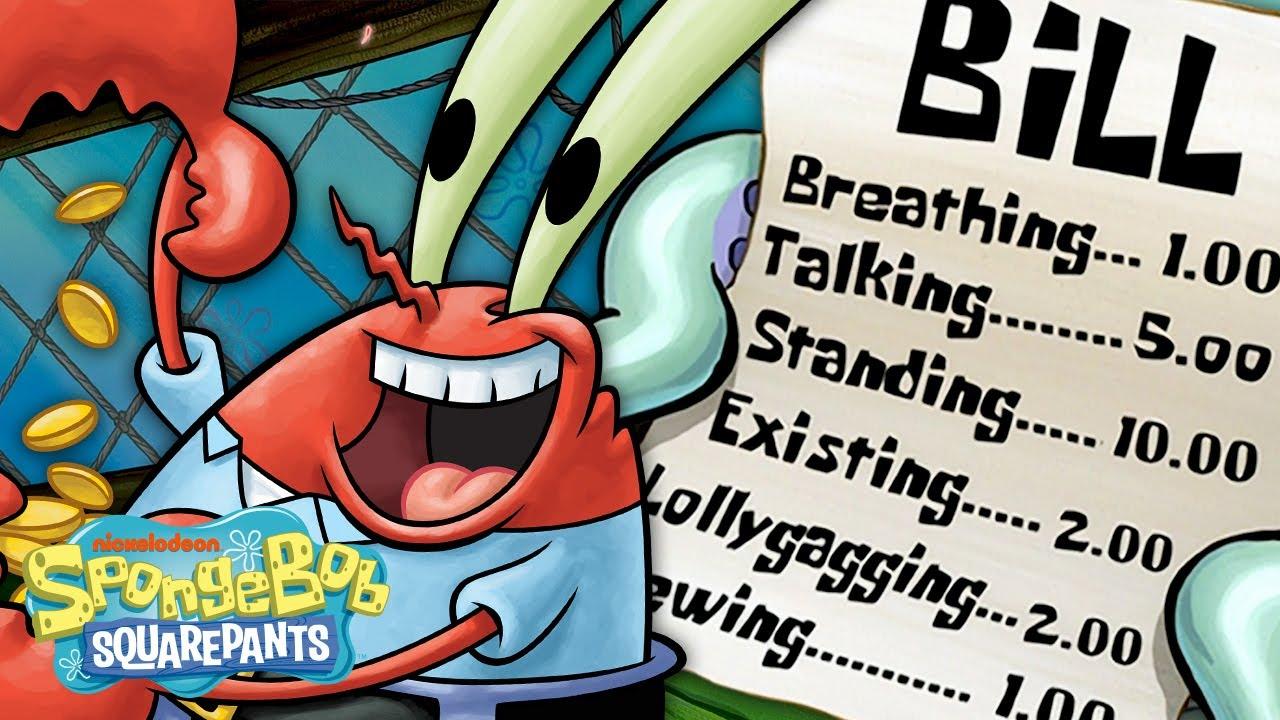 Download Mr. Krabs' GREEDIEST Moments Ever! 🦀💰 SpongeBob