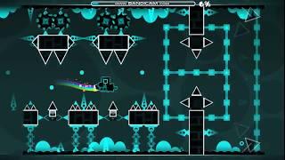 Uno de los demons más fáciles de Geometry Dash! Space Club By: D0mer