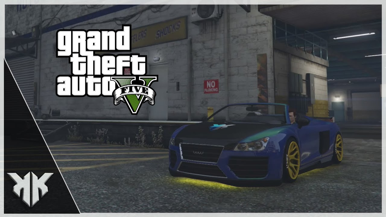GTA V TUNEANDO EL OBEY 9F CABRIO - YouTube