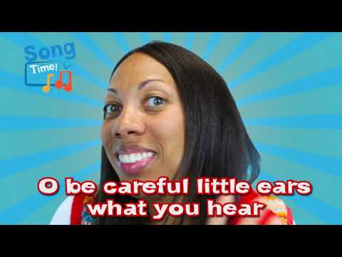 O Be Careful Little Eyes ~ Kids Bible Songs with Lyrics with Motions