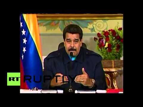 "Venezuela: ""U.S. sanctions seek to topple government""- Maduro"