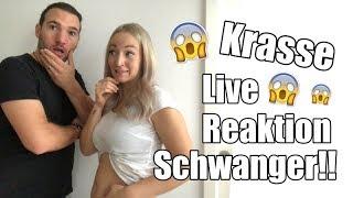 KRASSE Live Reaktion der Schwangerschaft von der Familie I Nati Vita