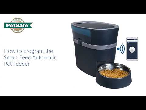 How to Program the PetSafe® Smart Feed Automatic Pet Feeder