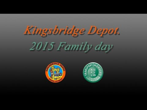 Kingsbridge Depot. family day