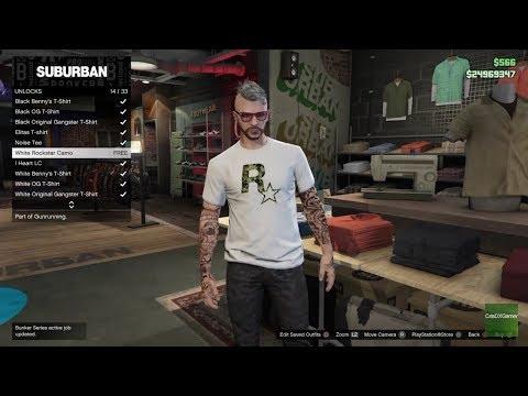 GTA Online Smuggler's Run How to Unlock Rockstar Special Tops!