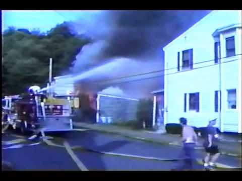 Port Carbon 4th & Market Garage fire