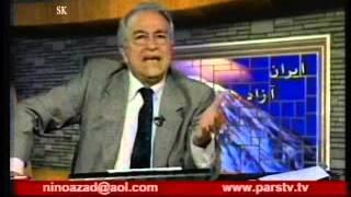 صحبت فرجی در مورد مشیریHossein Faraji_071612