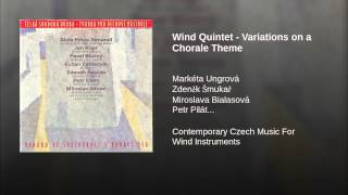 Wind Quintet - Variations on a Chorale Theme