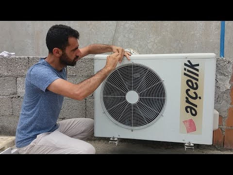 Klima soğutmuyorsa %100 çözüm - Klima gazı - Klima bakımı - Air Conditioning - gas