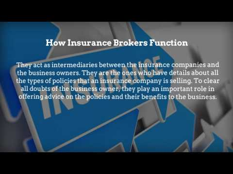 insurance brokers Perth: About brokers in Perth and the Insurance industry