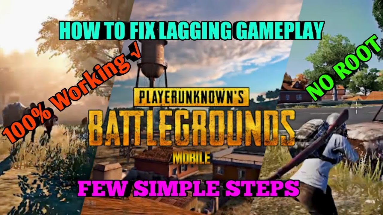 how to fix lagging gameplay in PUBG Mobile| simple steps