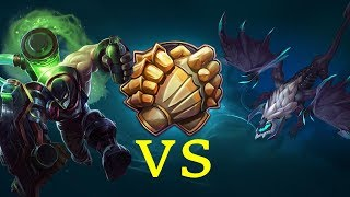 Funny and Tryhard Moments League Of Legends - Singed Try 1v1 Elder