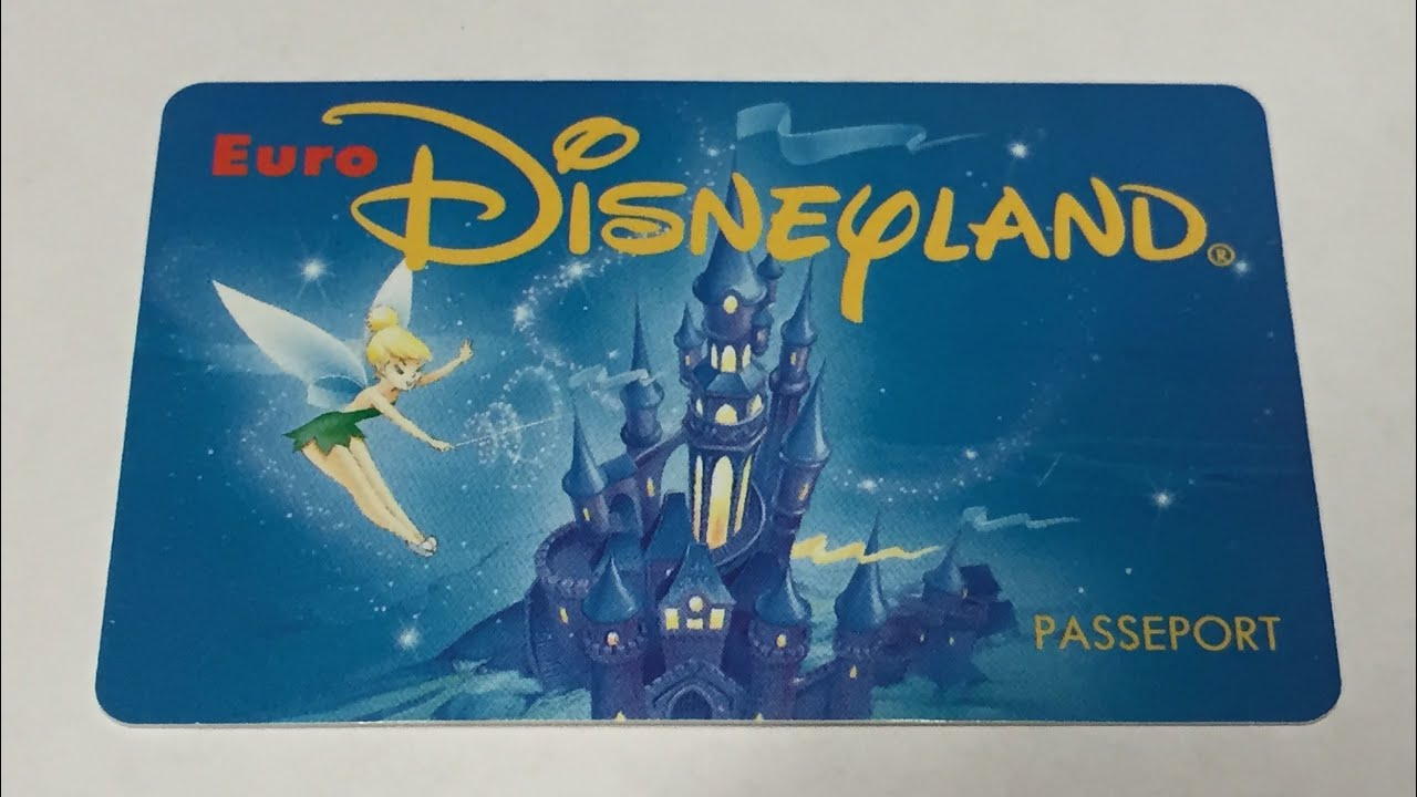 EBay RARE  EURO DISNEYLAND RESORT PARIS PARK MAP SOUVENIR - Disneyland usa location map