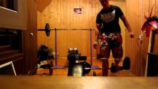 70 kg/154 pounds bench press 17 reps....