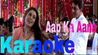 Aap Ka Aana Dil Dhadkana Karaoke - Kurukshetra ( 2000 ) Kumar Sanu & Alka Yagnik
