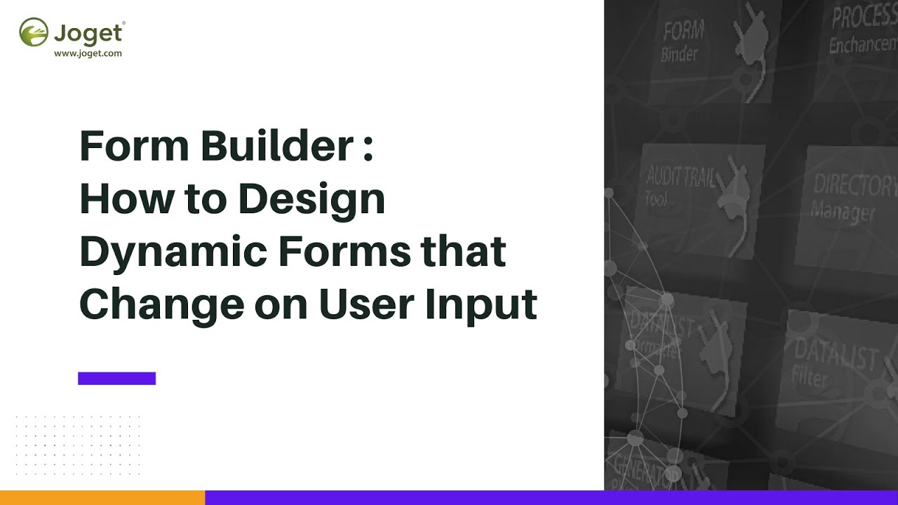 Form Builder - Learn how to design dynamic forms that change on user input