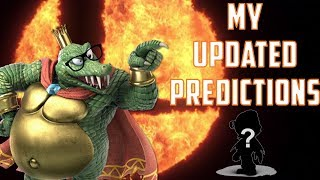My Updated Super Smash Bros Ultimate Newcomer Predictions