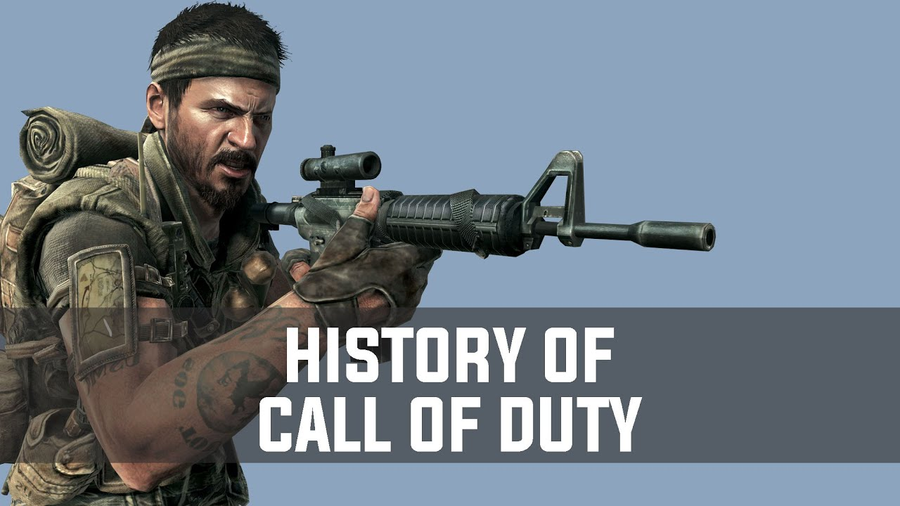 History of Call of Duty (2003-2013)