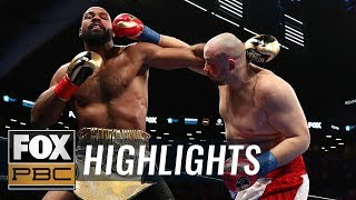 Adam Kownacki devastates Gerald Washington in two rounds | HIGHLIGHTS | PBC ON FOX