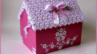 коробку для денег на свадьбы своими руками