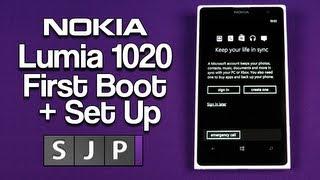 Nokia Lumia 1020 First Boot + Set Up - @nokia